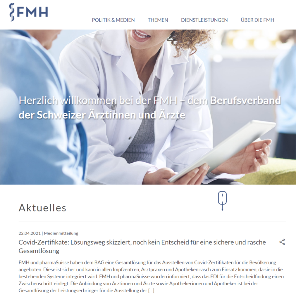 Website FMH Website
